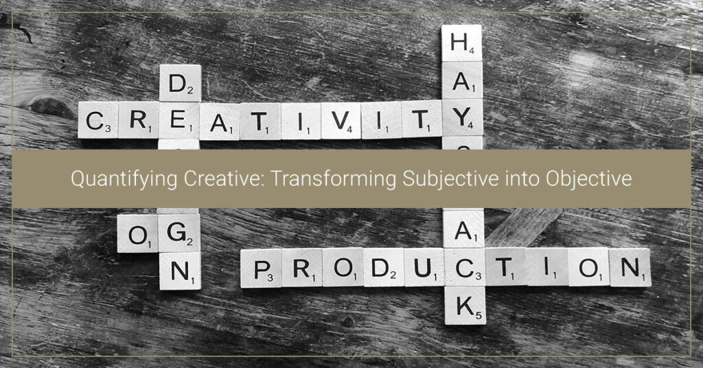 Quantifying Creative: Transforming Subjective into Objective